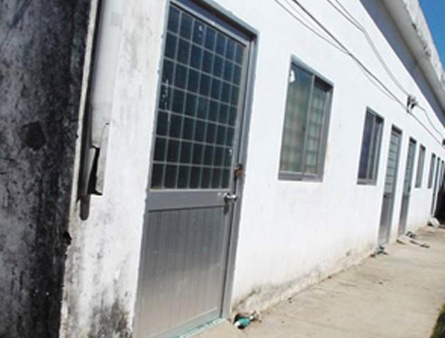 Căn nhà trọ nơi phát hiện nạn nhân tử vong