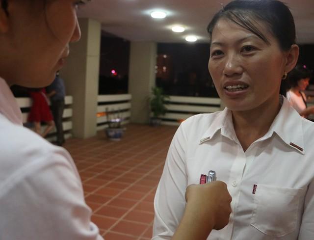Cô Cao Thị Nghĩa tâm sự về học trò. Ảnh: Quyên Quyên