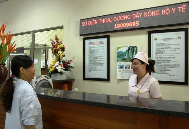 Số điện thoại đường dây nóng Bộ Y tế và Bộ phận tiếp đón bệnh nhân tại Viện Huyết học - Truyền máu Trung ương