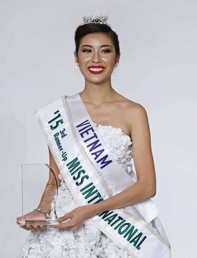 Phạm Hồng Thúy Vân là người đẹp Việt đầu tiên giành ngôi vị Á hậu 3 cuộc thi Hoa hậu Quốc tế. Ảnh: Missosology
