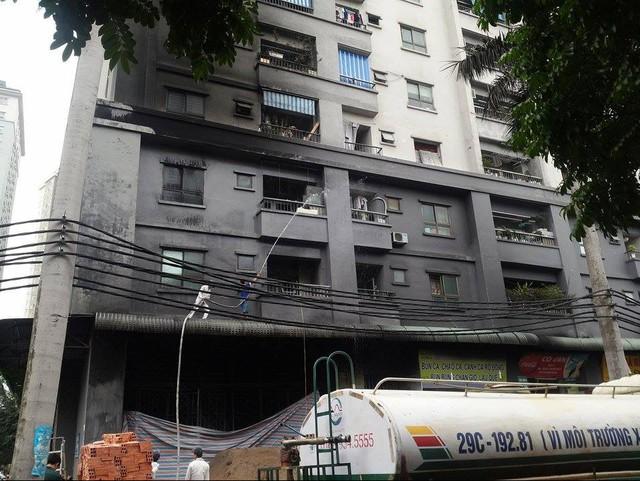 Cơ quan chức năng nỗ lực khắc phục hậu quả sau vụ cháy