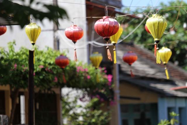 Đèn lồng mang lại nét độc đáo cho phố cổ Hội An