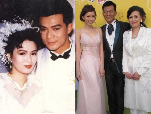 Huỳnh Nhật Hoa bên vợ ngày cưới và hình ảnh gần đây.