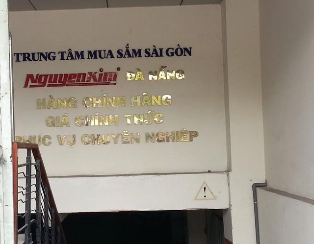 Nguyễn Kim Đà Nẵng quảng cáo phục vụ chuyên nghiệp. Ảnh Đức Hoàng