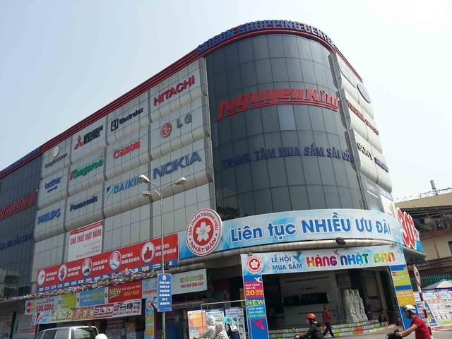 Trung tâm Điện máy – Kỹ thuật số Nguyễn Kim Đà Nẵng. Ảnh Đức Hoàng
