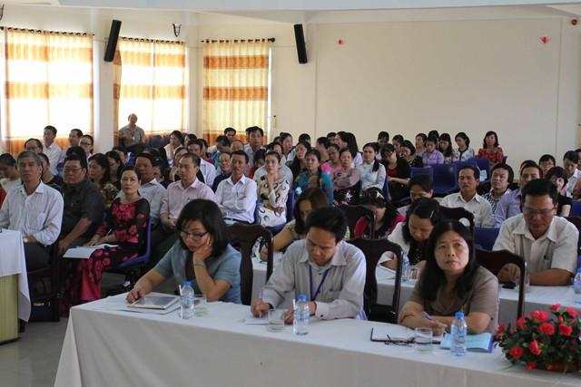 Các đại biểu tham dự hội nghị. Ảnh Đức Hoàng