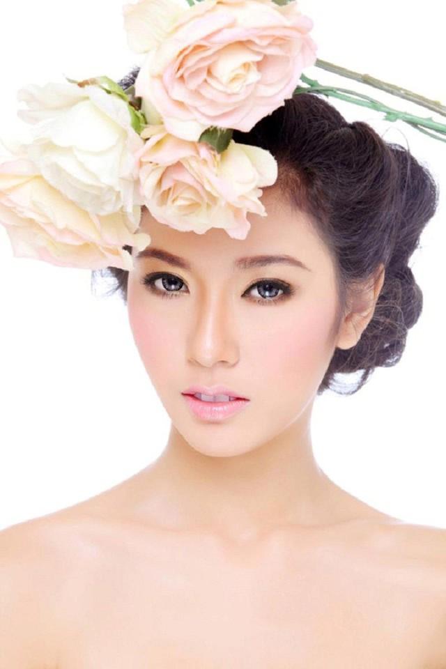 Tạicuộc thi Miss Teen 2012 Thúy Vân dừng lại ở top 20 chung cuộc. Ảnh: BTC Miss Teen 2012
