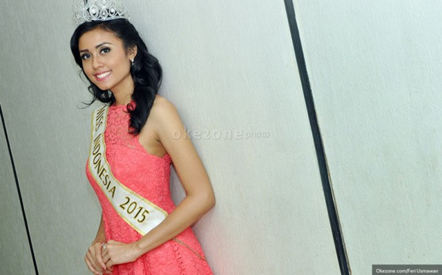 Đại diện của Indonesia làMaria Harfanti (23 tuổi). Cô sở hữu nét đẹp hiền hậu, không rực rỡ nhưng ưa nhìn. Ảnh:okezone.com