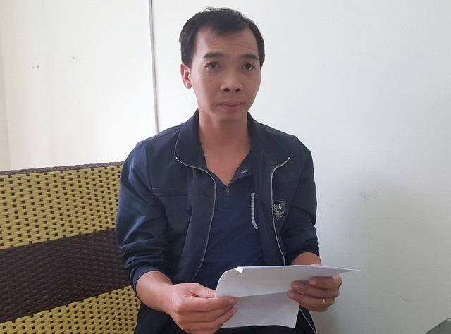 Anh Lê Hồng Phú trong buổi làm việc với phóng viên.
