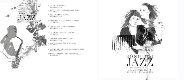 Bìa CD Bóng tối.