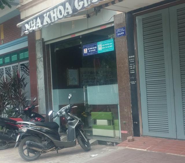 Trụ sở Công ty cổ phần Du lịch Dầu khí Hải Phòng – Chi nhánh Hà Nội.