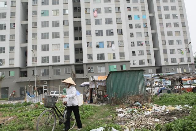 """Nếu không có ý thức giữ gìn vệ sinh môi trường sống, tại nhà cao tầng và chung cư cao tầng vẫn có thể là """"ổ"""" muỗi gây dịch bệnh. Ảnh: Chí Cường"""