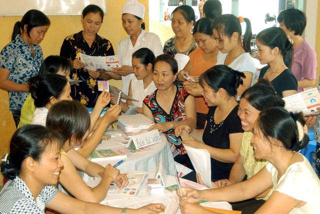 Ngành Dân số Hà Nội triển khai nhiều đề án nâng cao chất lượng nguồn nhân lực. Ảnh: Dương Ngọc