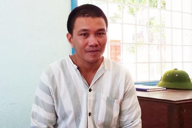 Phạm nhân Châu Ngọc Đạt tại Trại giam Kim Sơn. Ảnh:H.Châu