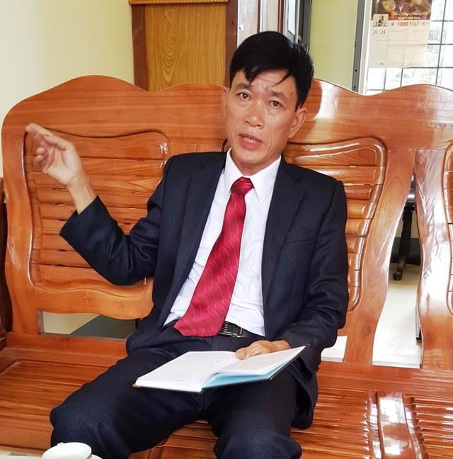 Nhiều điểm khai thác vàng trái phép đang diễn ra ngang nhiên nhưng ông Lý Trà Lối, chủ tịch UBND xã Can Hồ vẫn khẳng định là không có (?). Ảnh: Cao Tuân.