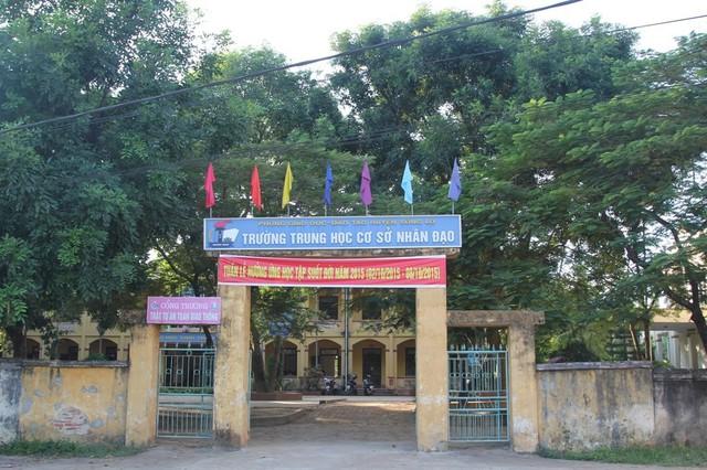 Ngôi trường nơi xảy ra việc cô giáo bắt học sinh súc miệng bằng nước xà phòng