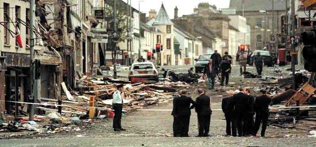 Omagh sau vụ nổ