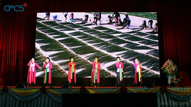 Các tiết mục văn nghệ chào mừng của các nghệ sỹ tỉnh Thái Bình