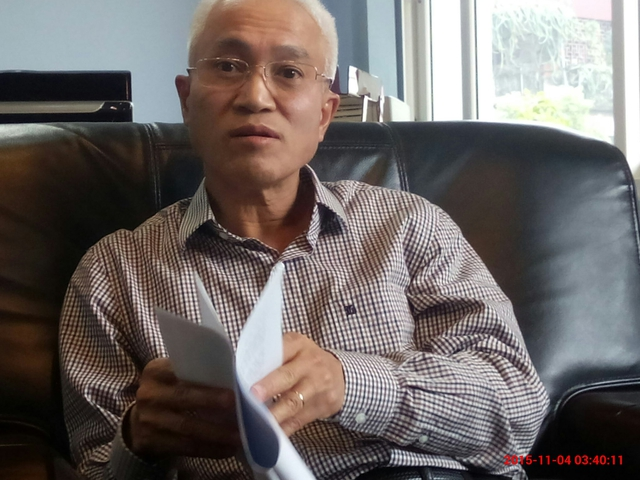 Ông Nguyễn Chỉ Sáng- Viện trưởng Narime
