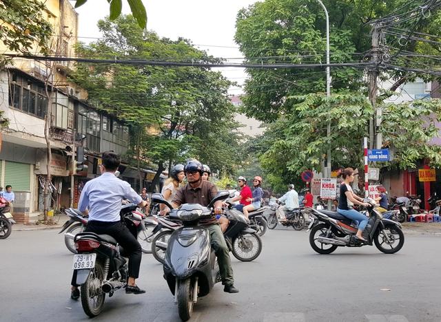 Trước mắt sẽ áp dụng xử phạt nguội ở một số quận nội thành Hà Nội.