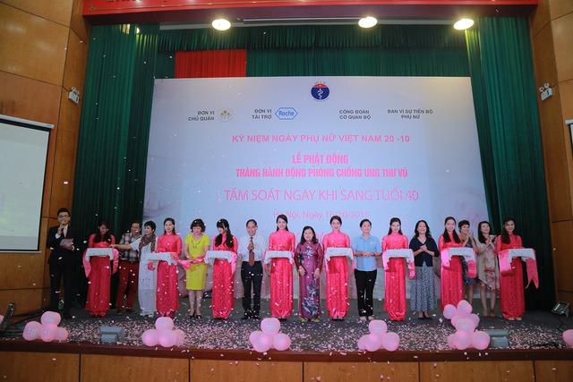Thứ trưởng Bộ Y tế Nguyễn Thị Xuyên tham dự và phát động Chiến dịch.