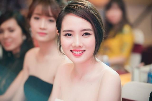 Diệp Hồng Đào tại họp báo Hoa hậu Việt Nam 2016, diễn ra vào ngày 15/3, tại TP HCM. Ảnh: Chí Linh