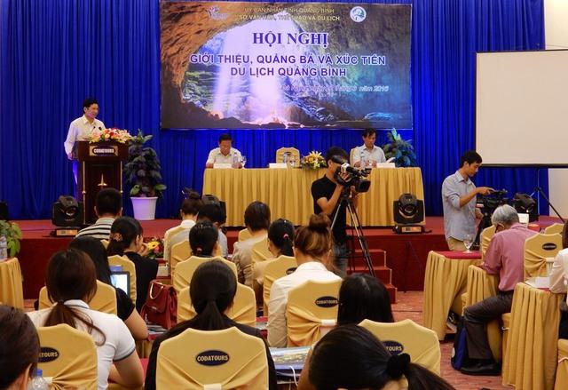 Hội nghị giới thiệu, quảng bá và xúc tiến du lịch Quảng Bình tại Đà Nẵng. Ảnh: Đức Hoàng