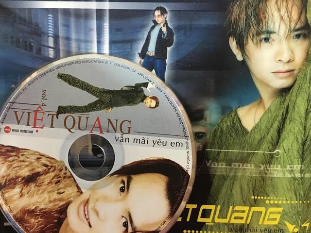 Việt Quang và album gây sốt một thời  Vẫn mãi yêu em.