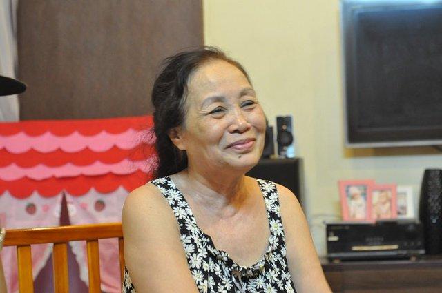 Bà Nguyễn Thị Đỏ trò chuyện với PV chiều 30/5. (Ảnh: Văn Chung).