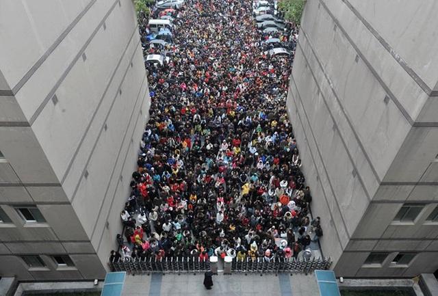 Kỳ thi đại học tại Trung Quốc được đánh giá vô cùng khốc liệt.