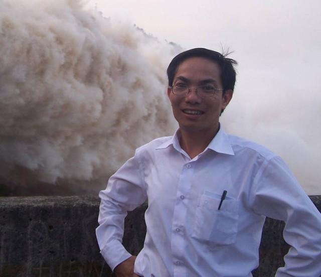 Tác giả Vũ Huy Hoàng. Ảnh: HH.