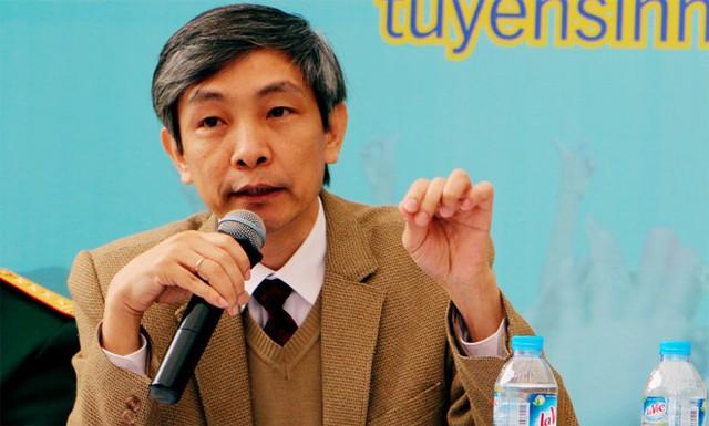 PGS.TS Bùi Đức Triệu, Trưởng phòng Đào tạo Đại học Kinh tế Quốc dân. Ảnh: Quyên Quyên.
