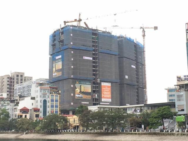 Dự án của Tân Hoàng Minh ở 36 Hoàng Cầu mắc sai phạm nghiêm trọng