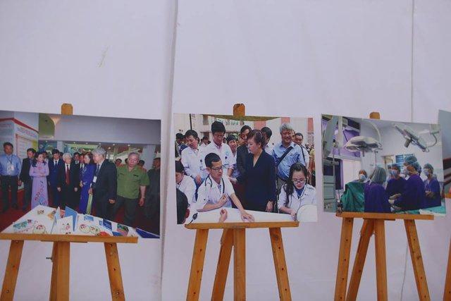 Một góc trại của Bộ Y tế.