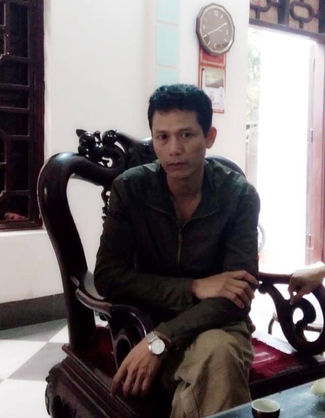 Ông Đỗ Văn Tuấn, bố của nạn nhân.