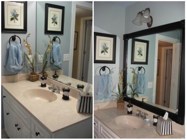 14. Kể cả gương phòng tắm cũng cần được đóng khung vì một tương lai tươi sáng hơn.