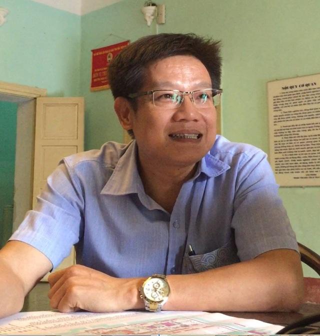Ông Phan Thanh Hải - GĐ Trung tâm Bảo tồn di tích cố đô Huế trao đổi với PV. Ảnh: Lê Chung
