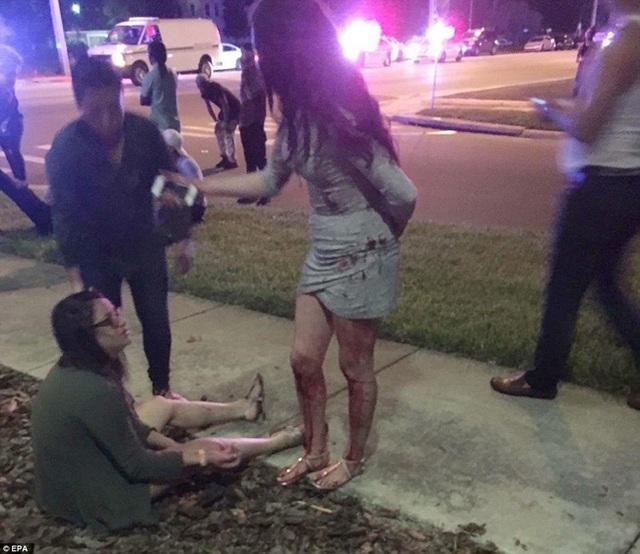 Hiện trường vụ xả súng kinh hoàng tại câu lạc bộ Pulse.