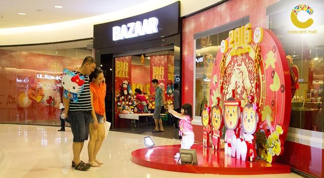 Crescent Mall còn là một địa điểm lý tưởng không chỉ để mua sắm, giải trí mà còn để thư giãn và vui chơi cùng gia đình và bạn bè.