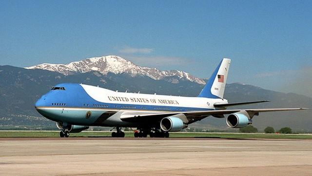 Chuyên cơ của tổng thống Mỹ sẽ đến Hà Nội sáng 23/5. Ảnh:White House