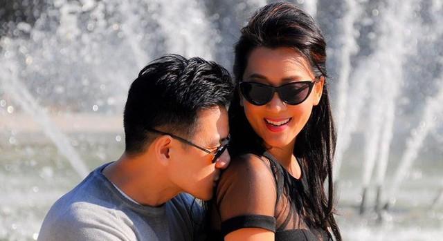 MC Kỳ Duyên hạnh phúc bên bạn trai Duy Hân sau gần 10 năm gắn bó. Ảnh: FBNV