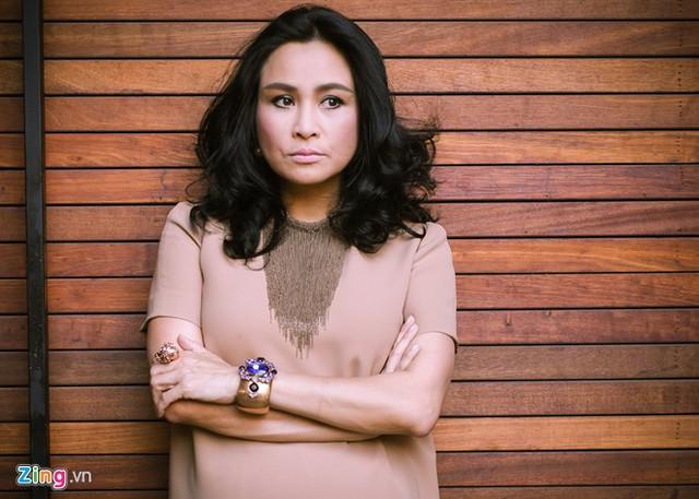 Thanh Lam nhấn mạnh đến chất lượng khi chị đảm nhận vị trí ghế nóng. Ảnh: Nguyễn Bá Ngọc