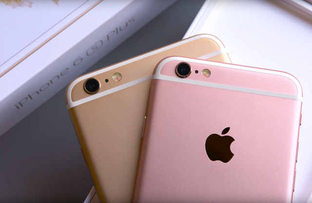 iPhone 5SE có thể giữ màu vàng hồng và vàng như iPhone 6S.