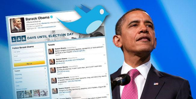 Không chỉ trong giai đoạn tranh cử, suốt quá trình tại vị ông Obama đều được bảo vệ ngay trên mạng xã hội. Ảnh: Greysaber.