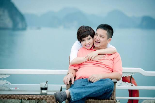 Vợ chồng Chí Trung - Ngọc Huyền.
