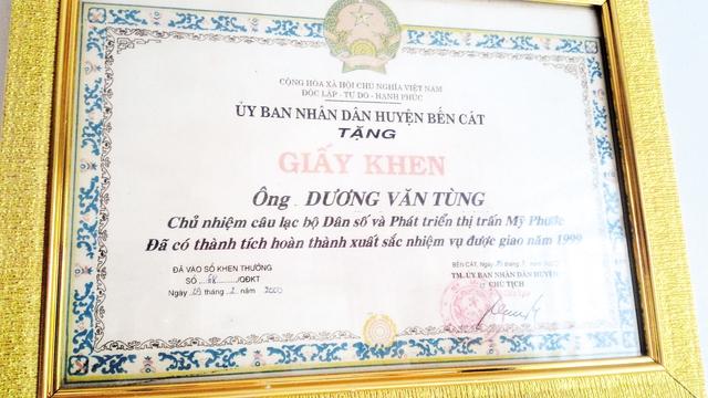 Từ một cán bộ tình báo lão luyện, thời bình ông Tư Tùng cũng không chịu ngồi yên mà tích cực tham gia hoạt động dân số tại địa phương.