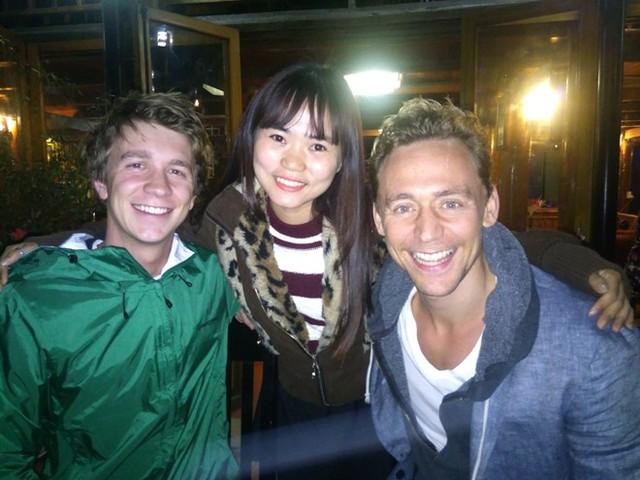 Loki rất thân thiện với các nhân viên làm việc tại khách sạn. Ảnh: CTV.