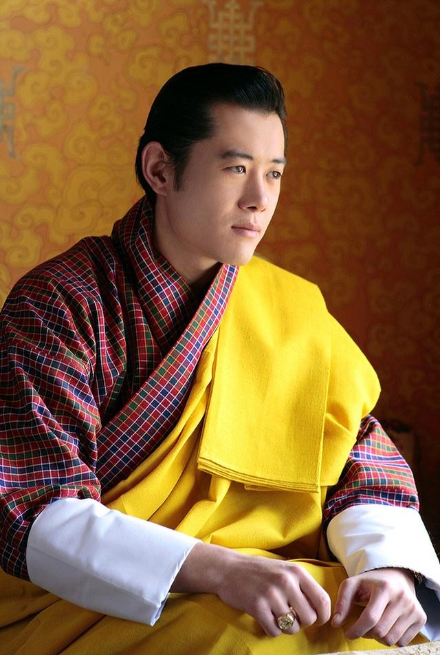 Chân dung Quốc vương Bhutan.