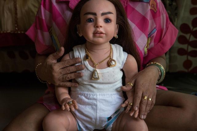 Những con búp bê có hình dáng như những đứa trẻ