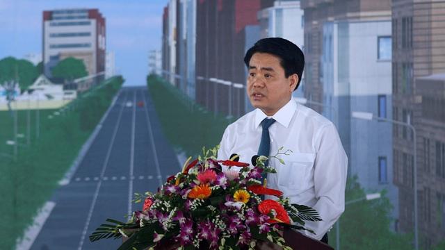 Lãnh đạo Chính phủ, thành phố Hà Nội, tướng lĩnh quân đội tham dự buổi lễ thông xe